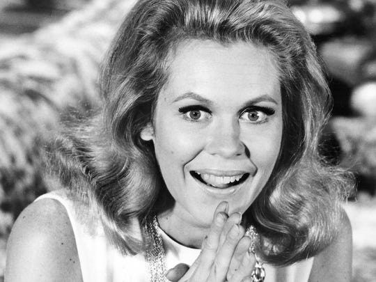 """Elizabeth Montgomery starred as Samantha Stevens, the modern day witch in """"Bewitched"""" 1964-72 on ABC"""