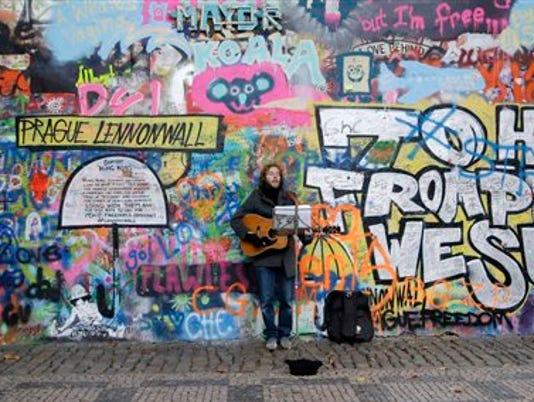 Czech Republic Lennon Wall