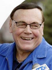 Former Purdue basketball coach Gene Keady
