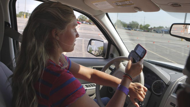 Enforcement of rules for people who text while driving must become stricter, one letter writer says.