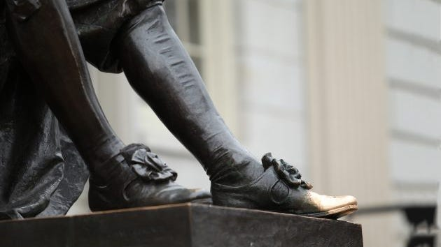 Many prospective Harvard students touch the left shoe of the John Harvard statue for luck. But you need way more than luck to get in.