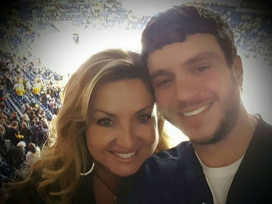 Sonny Melton, with his wife, Heather, was one of the
