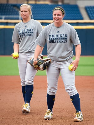 Megan Betsa, left, and Haylie Wagner have combined for 52 wins this season.