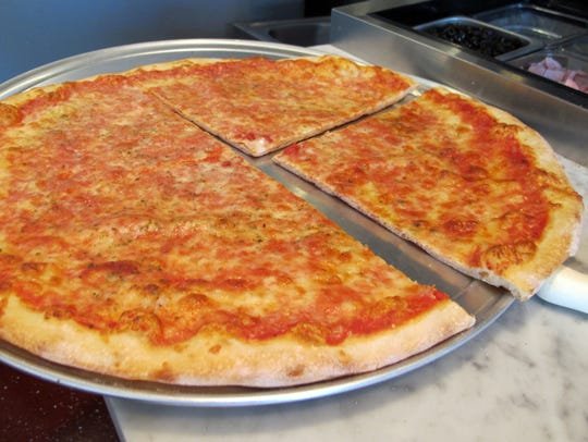 Pizza, of course, is the most popular menu item at