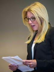 Christine Najarian, the widow of Dr. Ken Najarian,