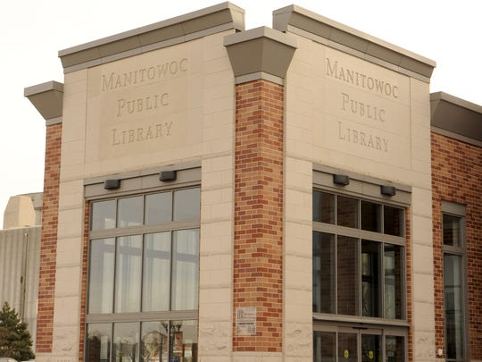 Manitowoc Public Library building exterior.