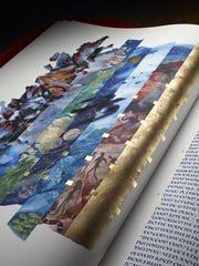The Saint John's Bible Heritage Edition. Creation, by Donald Jackson.