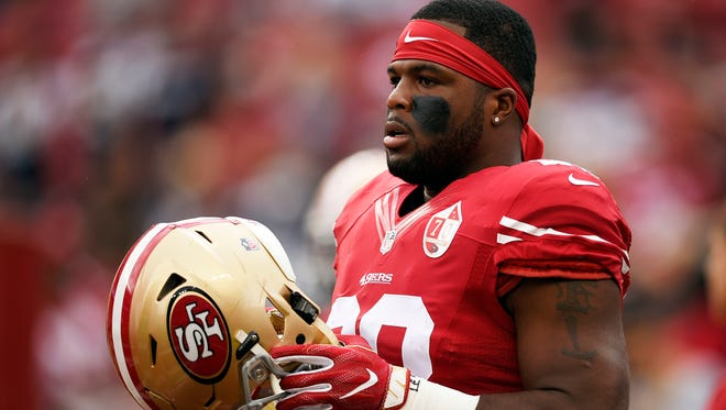 RB Carlos Hyde is headed to Cleveland after four seasons as a 49er.