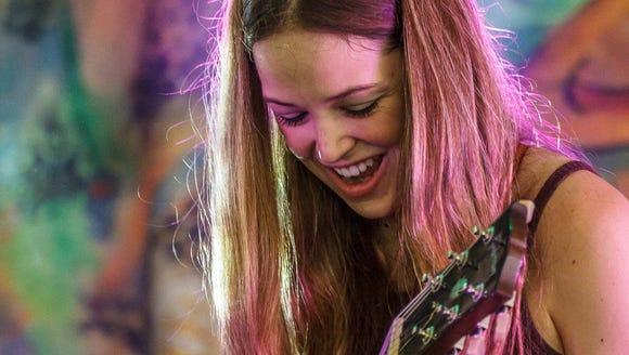 Blues rocker Heather Gillis is performing this weekend