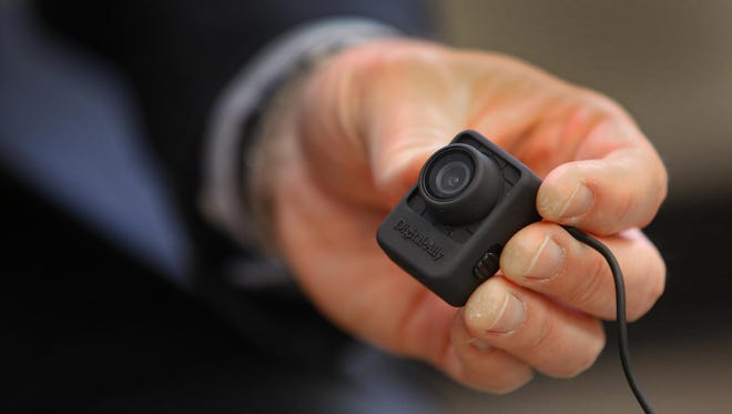 Indianapolis Metropolitan Police Department officers used body cameras through a pilot program that ended in 2015.
