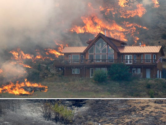 Small actions can reduce wildfire risks for Building a defensible home