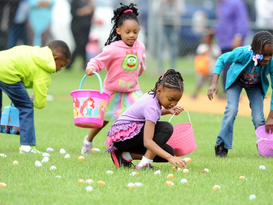 68th Annual Easter Egg Hunt at Vernon Dahmer Park | Gallery