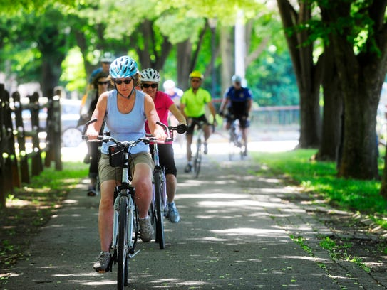 Repaved paths should make for a smooth ride on the