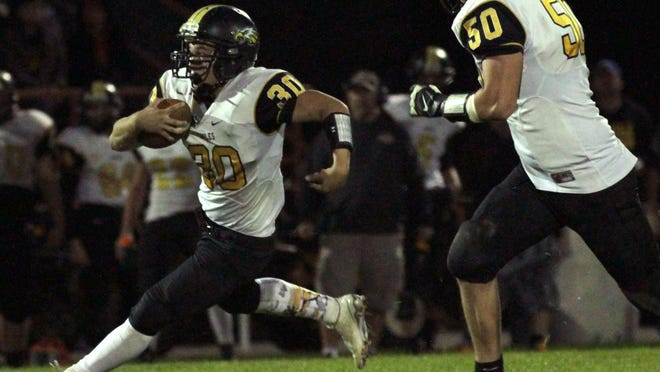 Trevor Shawber will look to continue the rushing success he saw in week one when the Eagles travel to Carey.