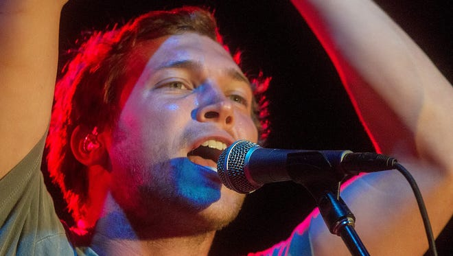 Phillip Phillips, shown performing at Salt River Fields on Thursday, July 3, 2014, in Scottsdale.
