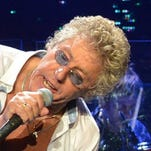 The Who, with original band members Roger Daltrey, left, and Pete Townshend, right, will celebrate its 50th anniversary with a tour that starts in April.