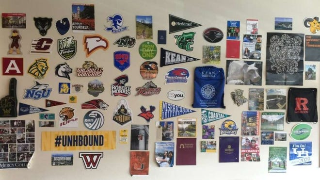 New Jersey students attend a wide variety of colleges and universities around the country.