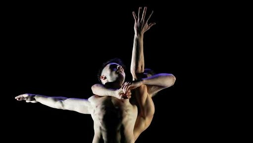 In this photo taken on Saturday, Nov. 26, 2016, dancers perform at the International Festival of Contemporary Choreography in the town of Vitebsk, Belarus. At the end of November Vitebsk hosted the International Festival of Contemporary Choreography, which dates back to the 1987 festival of Soviet counterculture, with thirty dance companies and individual dancers from Belarus, Russia, Ukraine, Lithuania, Poland, Sweden, Estonia, Moldova and China presented cutting-edge dance shows.
