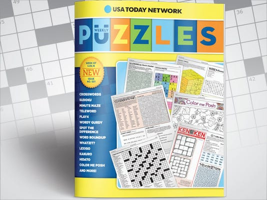 Weekly Puzzles book