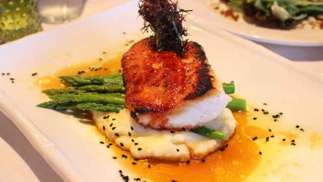 The fish is always a wise choice at A Table Apart in Bonita Springs, just one of the restaurants our food critic loves.