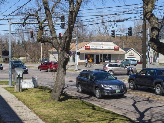 The Pine Street Deli in Burlington is proposing to tear down the deli and build an apartment building on the site. The deli, seen on Thursday, April 21, 2016, is on the northeast corner of the intersection of Pine Street and Flynn Avenue.