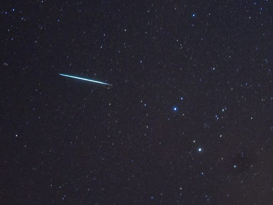 US-SPACE-METEOR SHOWER