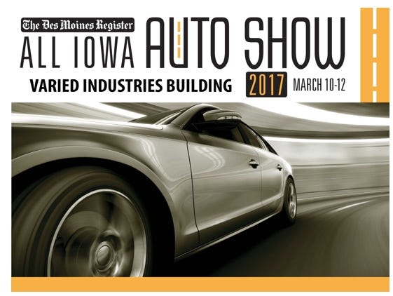 BUY ONE, GET ONE FREE at the inaugural All-Iowa Auto Show presented by The Des Moines Register. Offer good through 3/08.