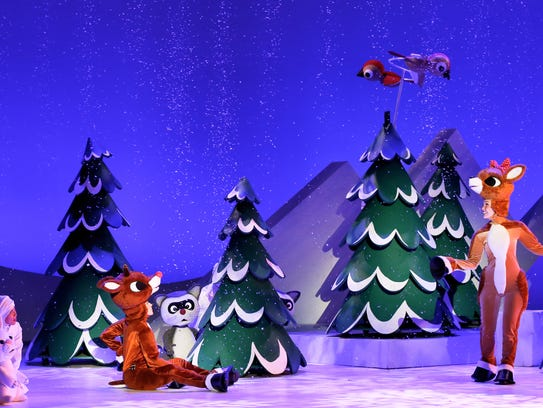 "A recent publicity photo from ""Rudolph the Red-Nosed"