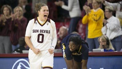 ASU's Katie Hempen needs seven 3-pointers to become the school career leader.