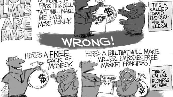 Editorial cartoon for Tuesday, Feb. 6