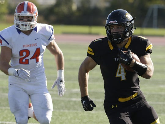 UW-Oshkosh's Dylan Hecker is approaching the one-year