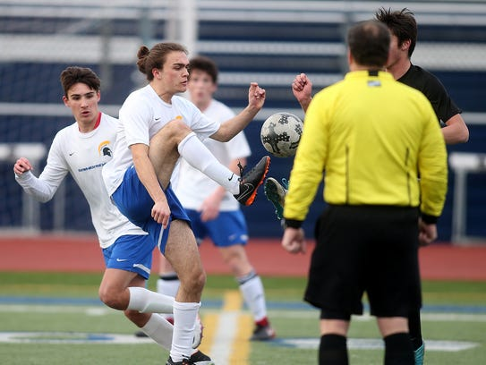 Bainbridge's Mario Vukic is the fourth member of his family to be a member of the Spartans' soccer program.