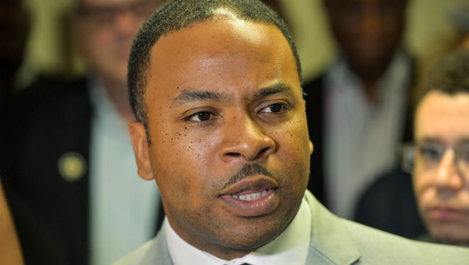 "Shelby County Democratic Party Chairman Corey Strong called local Republican nominees ""racist, homophobic, unethical and unqualified,"" angering local and state Republican officials."