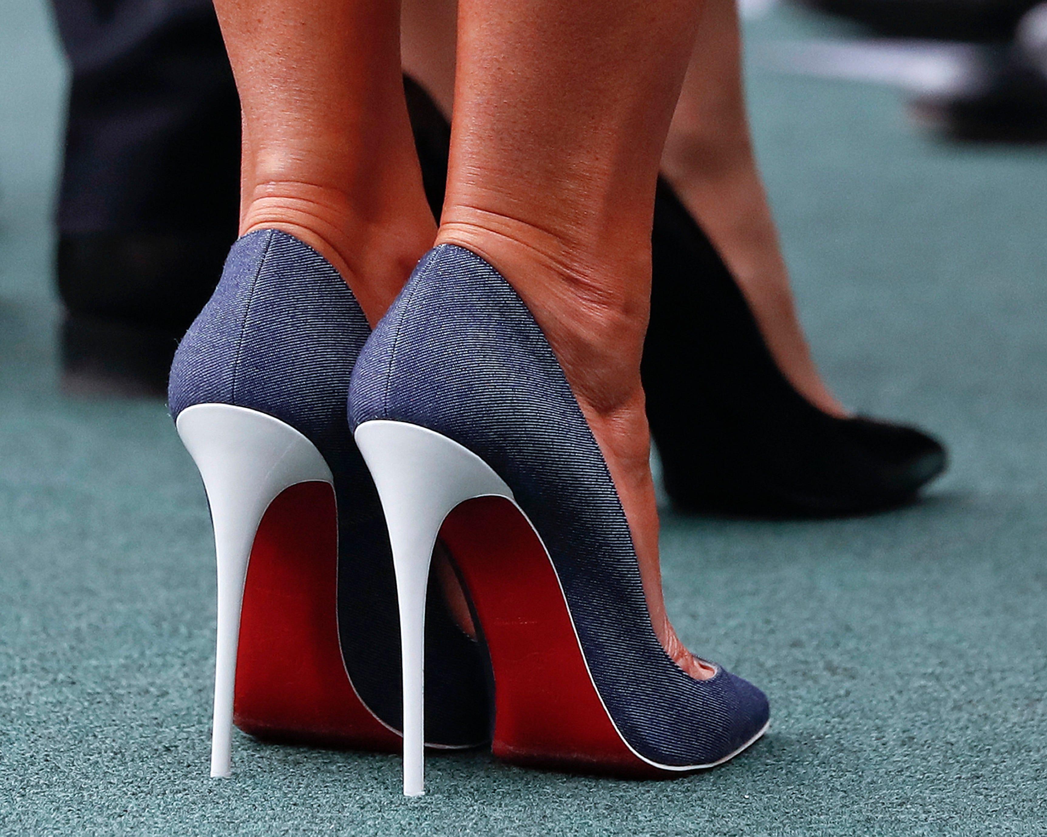 Designer Louboutin wins case on red