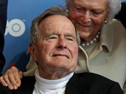 AP BUSH HOSPITALIZED A FILE USA ME