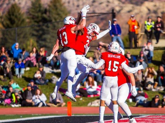 College football: Northern Arizona at Southern Utah, Saturday, November 18, 2017, in Cedar City, Utah. Southern Utah defeated Northern Arizona 48-20 to claim the Big Sky title.