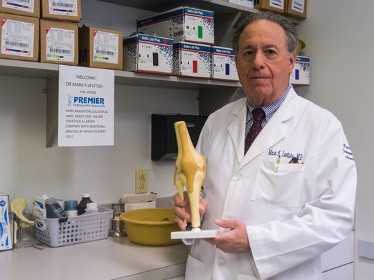 Dr. Mark Levitsky, the Inspira Physician of the Year, pictured here in his Bridgeton, N.J, office.