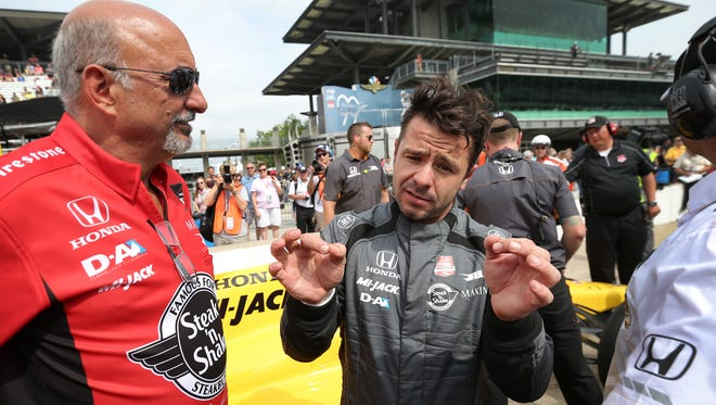Oriol Servia drove for Rahal Letterman Lanigan Racing in this year's Indianapolis 500