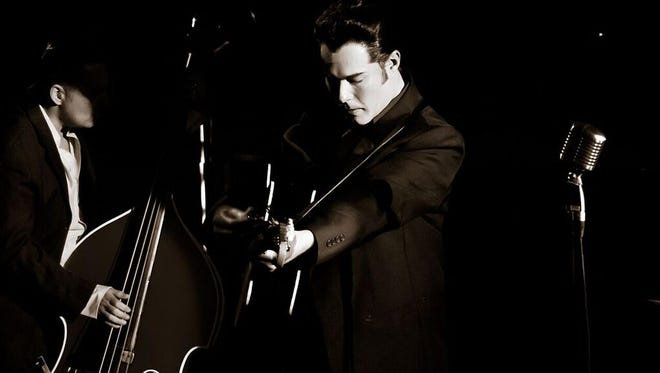 """Scott Moreau brings his concert """"Walkin' The Line: A Tribute to Johnny Cash"""" to CRT Downtown on Feb. 10-11."""