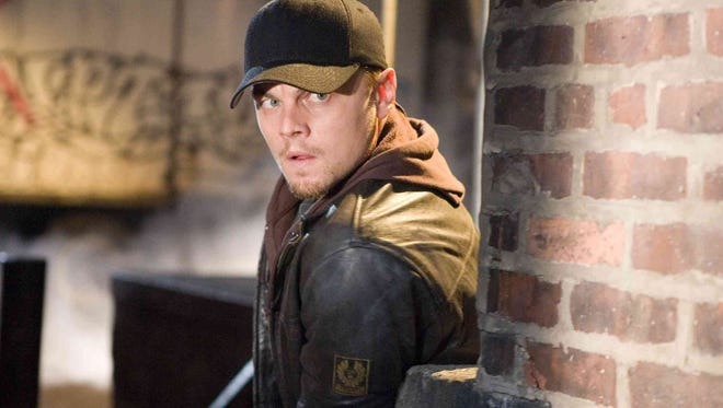 """Undercover cop Billy Costigan (Leonardo DiCaprio) must protect his own identity while tailing the mob''s police mole in """"The Departed."""""""