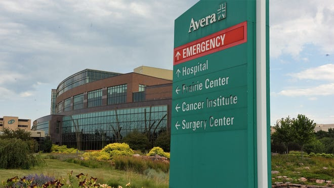 The five-story Prairie Center at Avera McKennan is home to the Avera Cancer Institute and Avera Surgery Center.