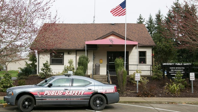 Western Oregon University's campus safety office serves the university's 6,100 students in Monmouth.