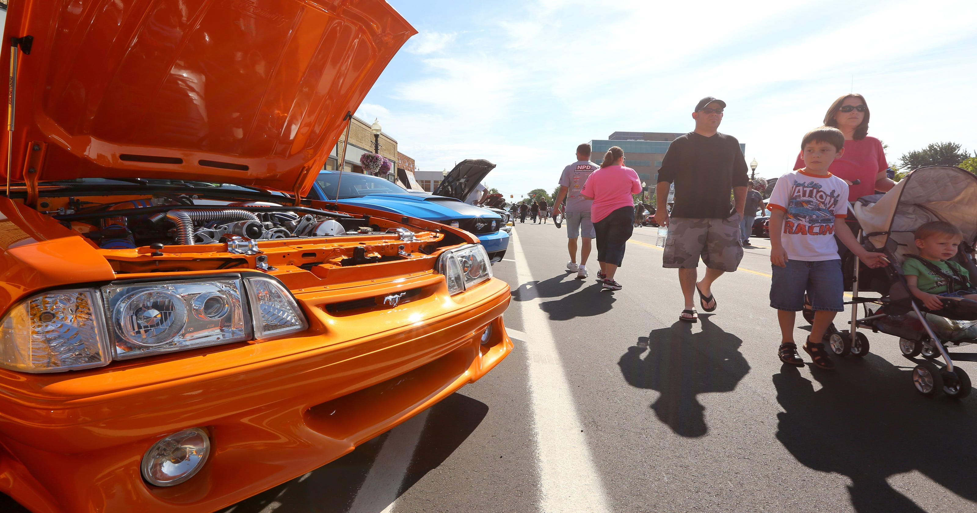 Ford To Sponsor Offer 4 New Features At 2017 Woodward Dream Cruise