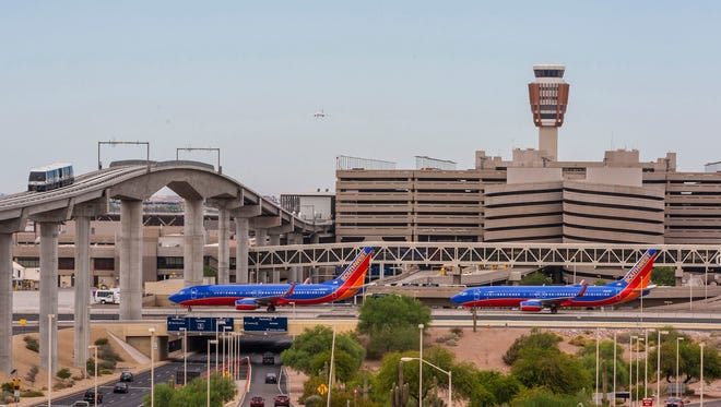 "Thirty flights were affected in Phoenix on Thursday at Sky Harbor due to a winter storm or ""bomb cyclone"" affecting the East Coast."