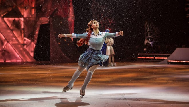 "Nobahar Dadui plays the title role in Cirque du Soleil's ""Crystal,"" at Little Caesars Arena Jan. 10-14. The story chronicles the otherworldly adventures of a young woman who feels out of touch with the world around her. But all that changes after she falls through the ice and encounters a world that mirrors her own."