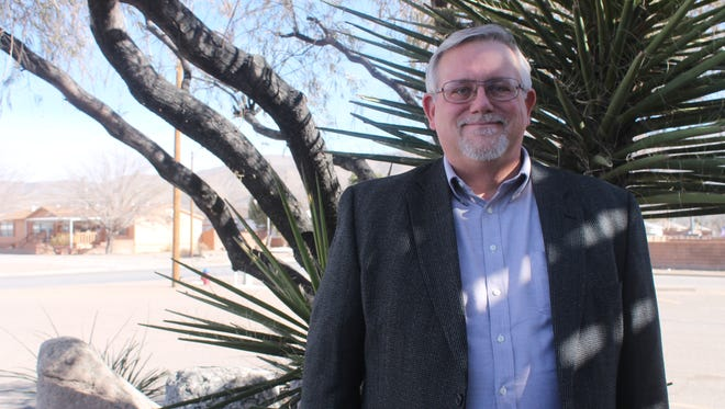 Craig Danekas, owner of Casa y Tierra Abstract and Title Company, is running for the City Commission seat in District 2.