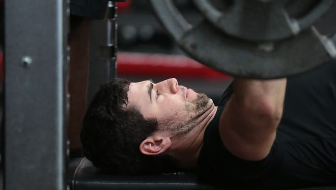 Jarrett Stidham knew he would need a strong fitness regimen after separating from his college team. He found it quickly and stuck by it.