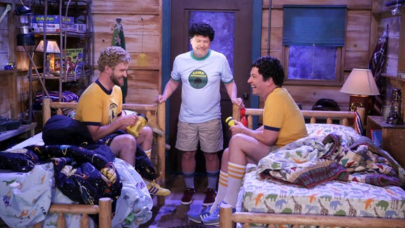 Justin Timberlake, Billy Crystal and Jimmy Fallon are