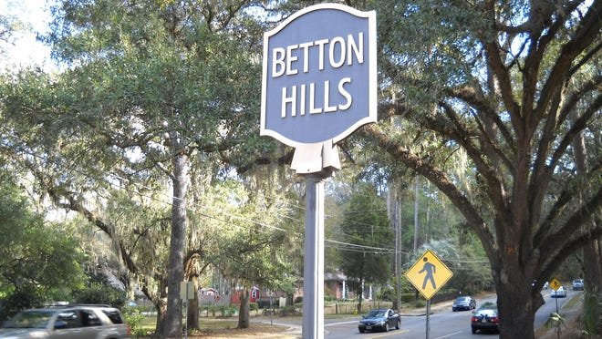 The Betton Hills neighborhood was developed in the 1940s.