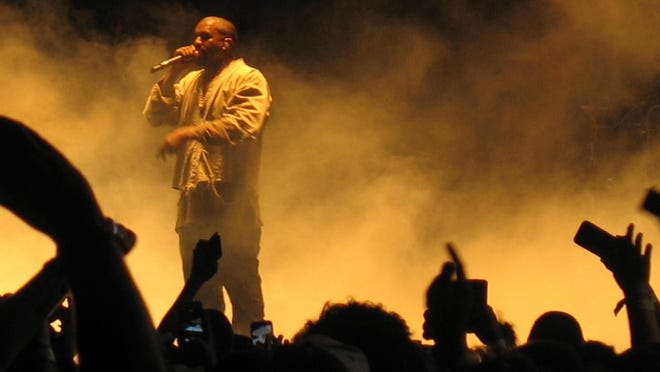 Kanye West stepped in at the last minute to perform in the headliner slot Saturday at the FYF Fest in Los Angeles